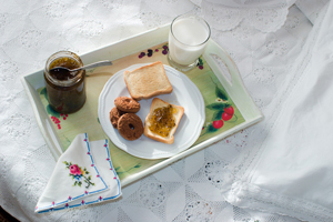 products liablity for food served - continental breakfast